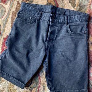 H&M Black Jean Shorts